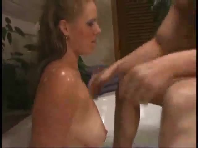 Sexy girl sex in bathroom