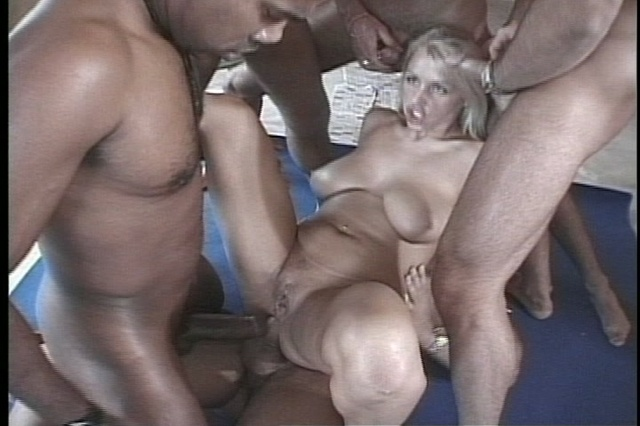 extreme hardcore sex with one lucky cock and two blonde nice babe ...