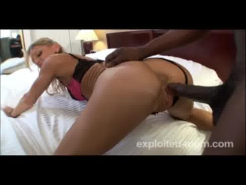 Flaccid dick handjob video