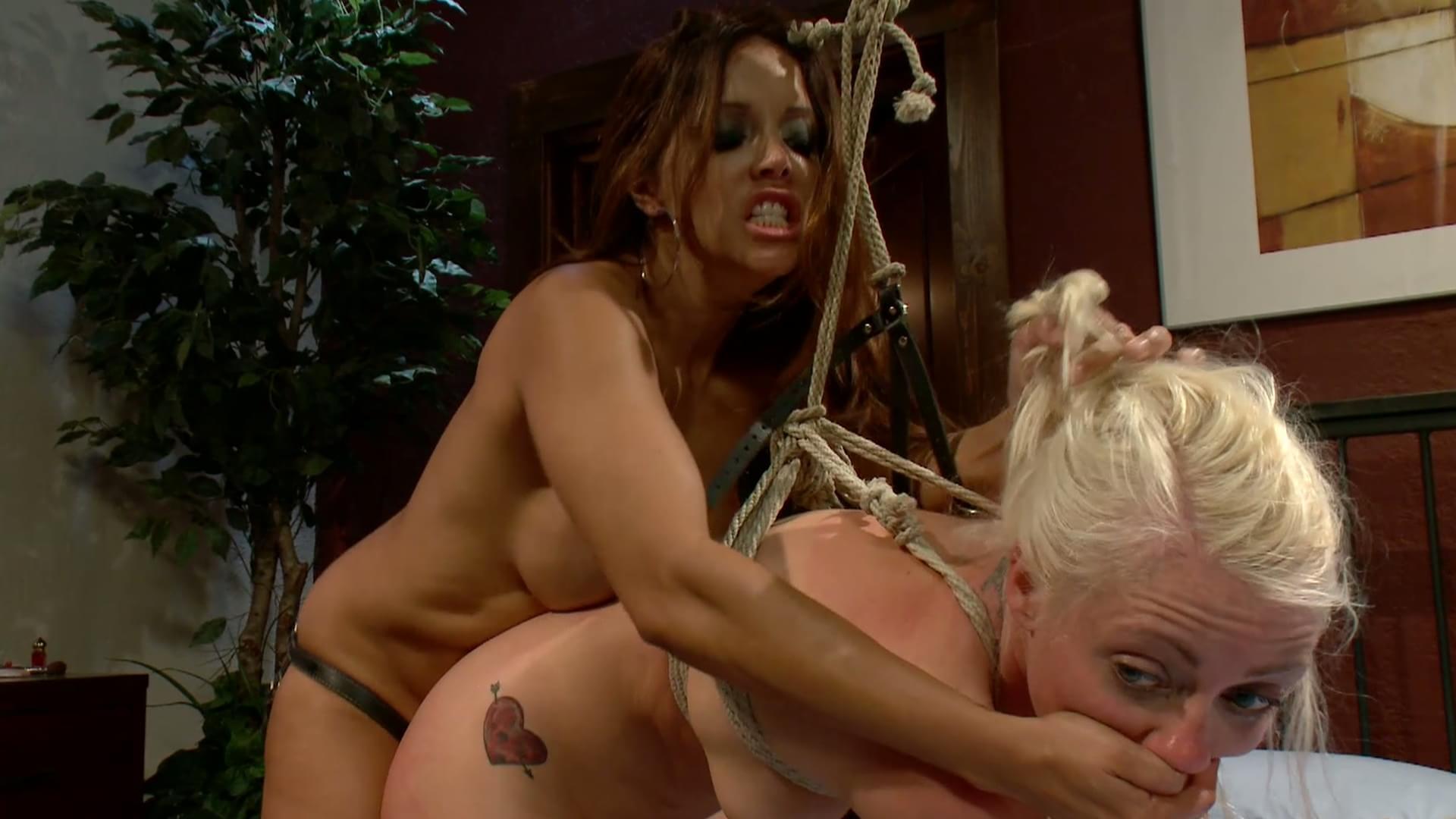 image Blonde office slut dominates her future boss039s cock until he