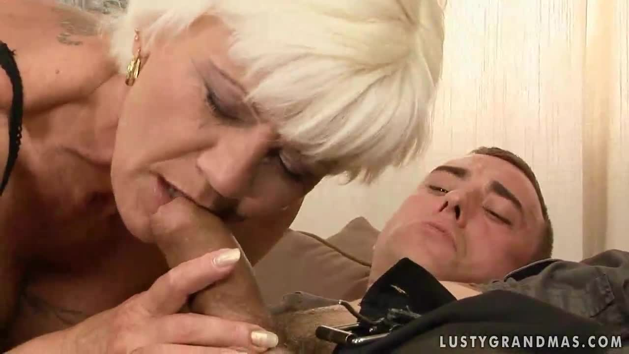 grandmother and son fucking