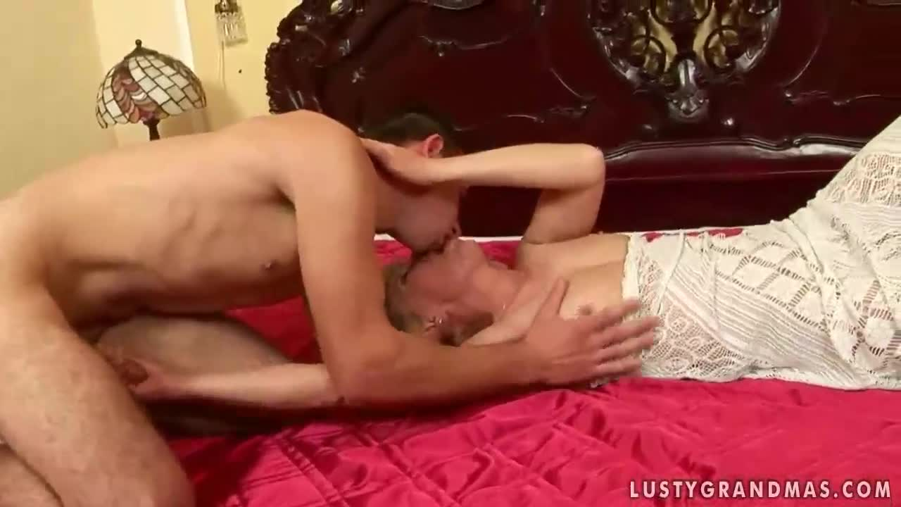 Dutch granny meets young lover - free watch and