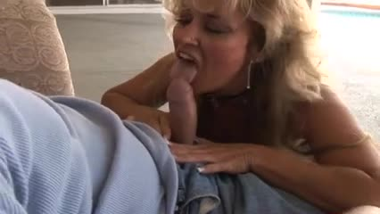 Hot blonde mature cougar