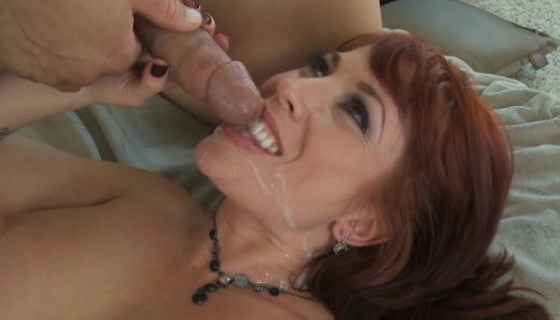 Red head mature fucking
