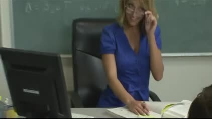 Hot Milf physics teacher