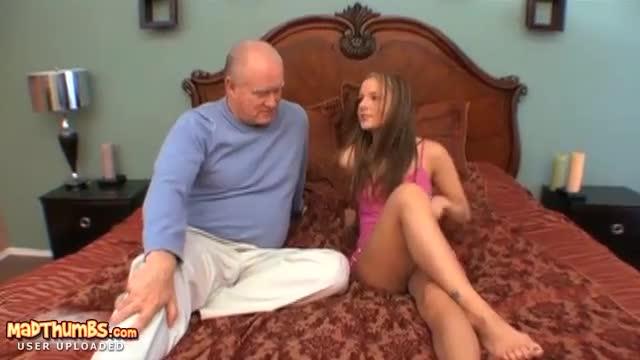 Older man seduces girl