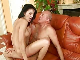Teen having sex with grandpa