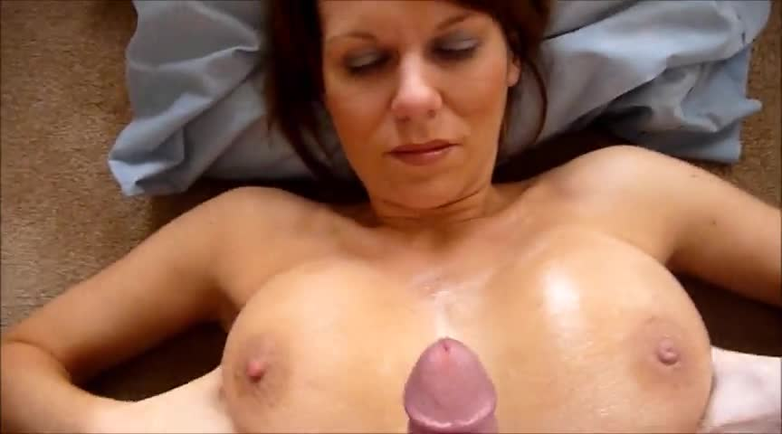 Big tit an face cum shots are