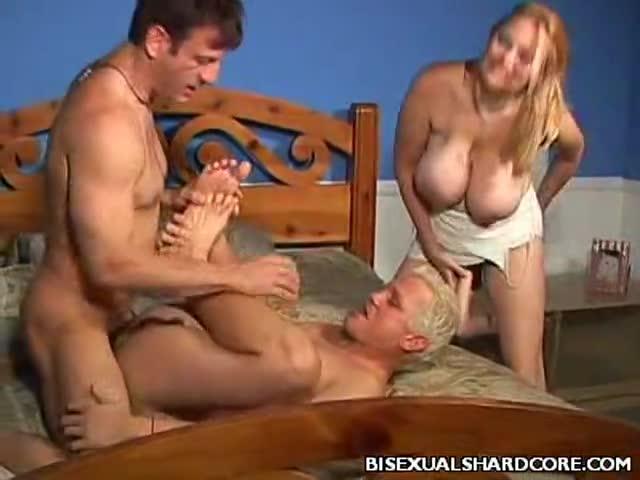 Big Cock Bisexual Threesome
