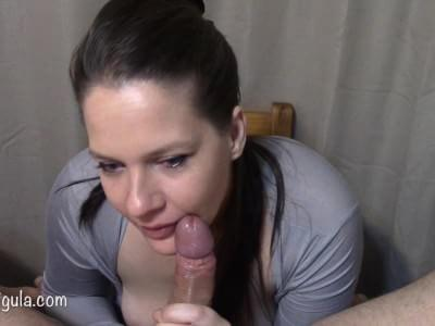 surprise oral creampie