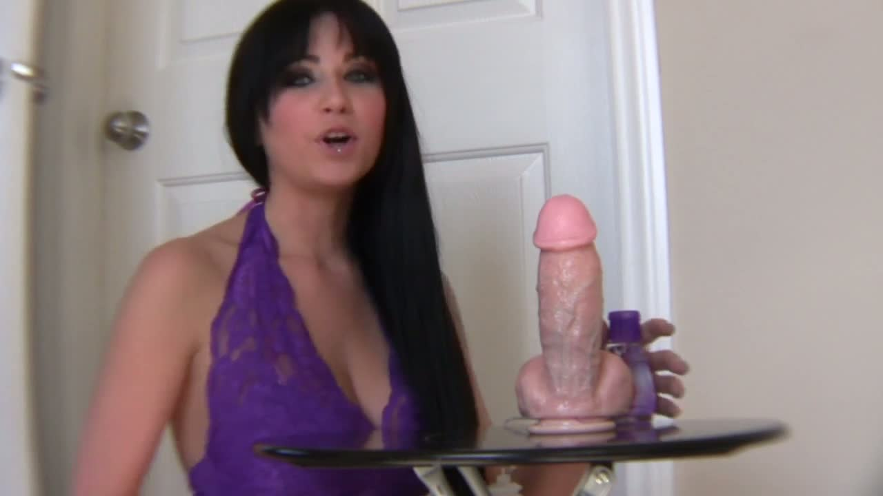 Cool Handjob Playing With Dildo