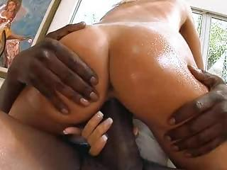 Cock barely fits her tight pussy