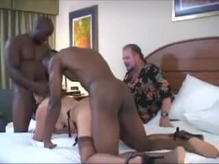 Wife Cuckold Husband Clean Up