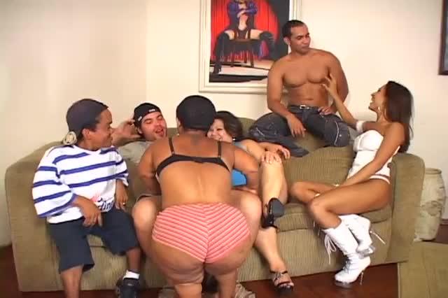 Horny midget porn