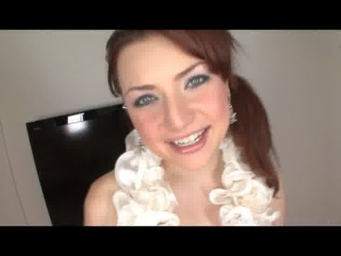 innocent teen first time sex video. jeatta is a very cute redheaded teen ...