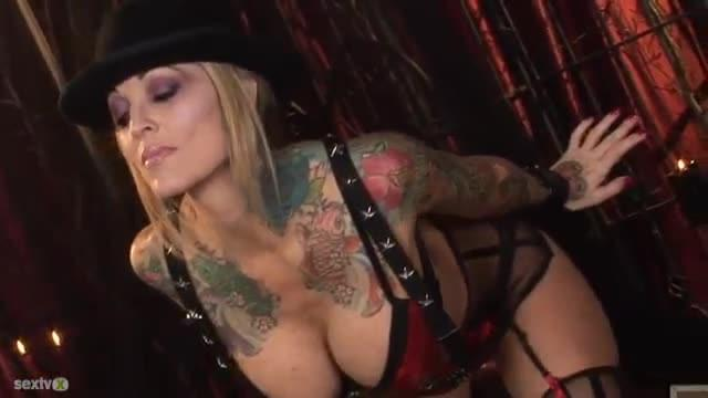 Janine Lindemulder Riding Cock On Couch