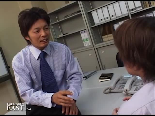 Sex uncensored japanese office