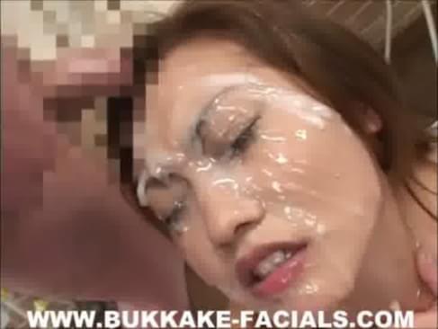 Japanese bukkake porn tube