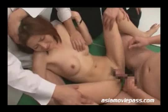 Girl with anal balls in ass
