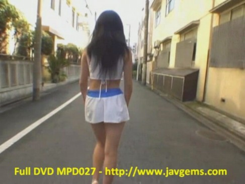 Japanese girl public nudity contribution 27 mpd027