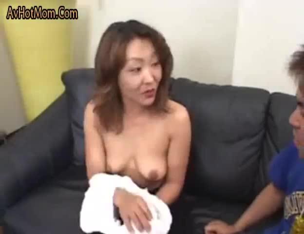 Asian Japanese Step Mom Son