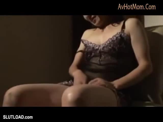 Horny masked mature slut getting wet