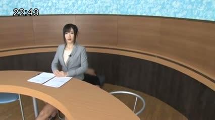 photo Japanese news reader porn