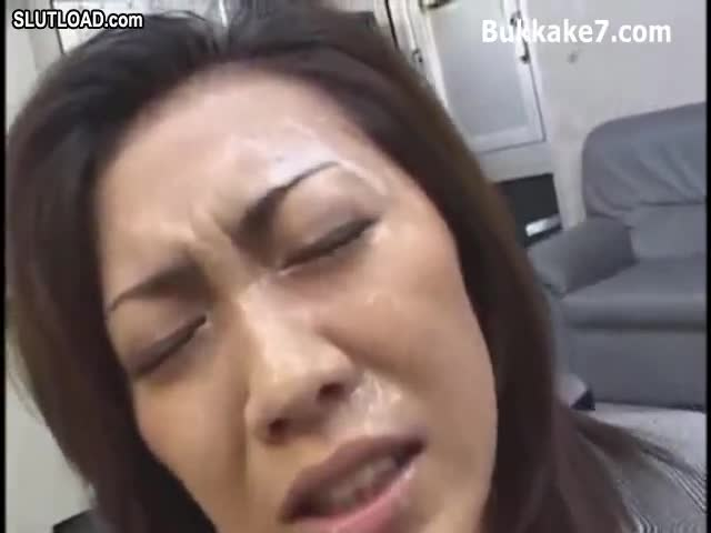 Japanese bukkake punishment seems