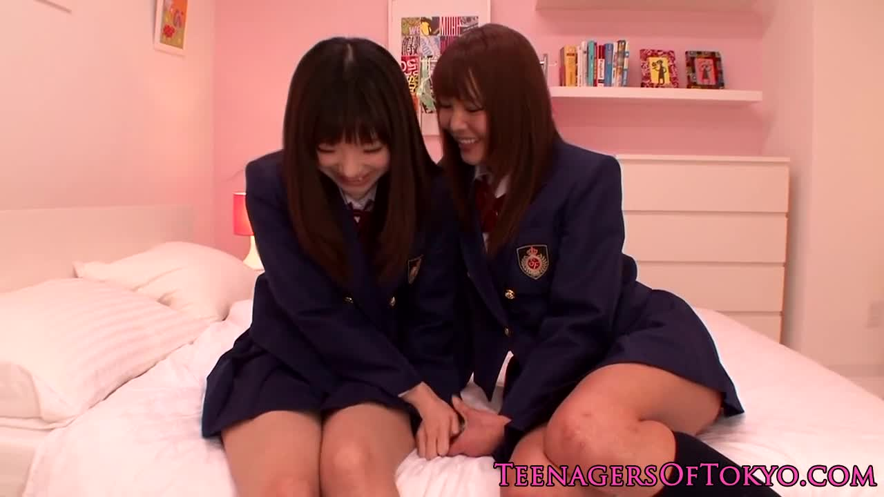 Bound japanese lesbian forced to be pleasured xxxbunker
