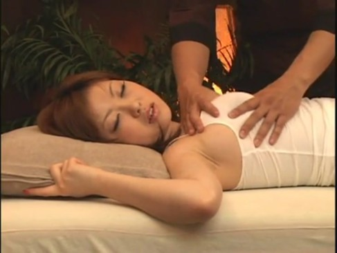 American wife massage tube