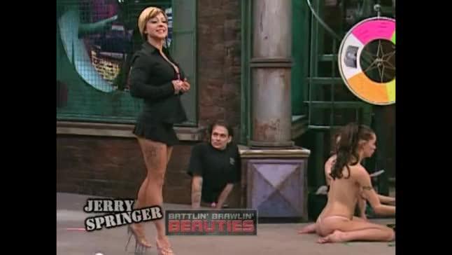 Big Tits On Jerry Springer