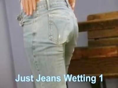 just jeans wetting