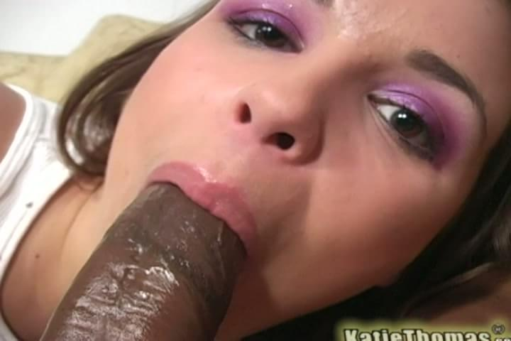 Has fabulous katie thomas black cock hot! that dick