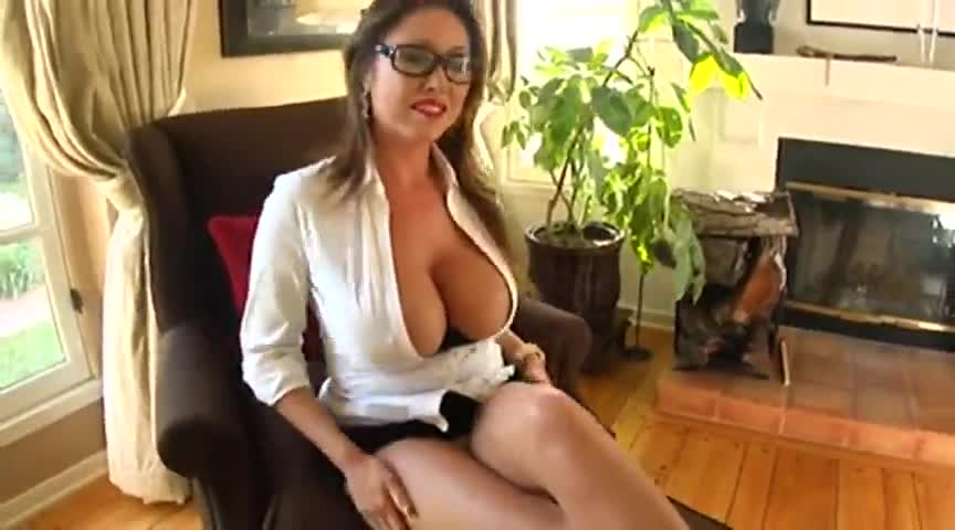 Busty secretary gets fucked by boss