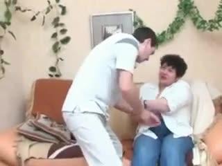 Bbw blows him