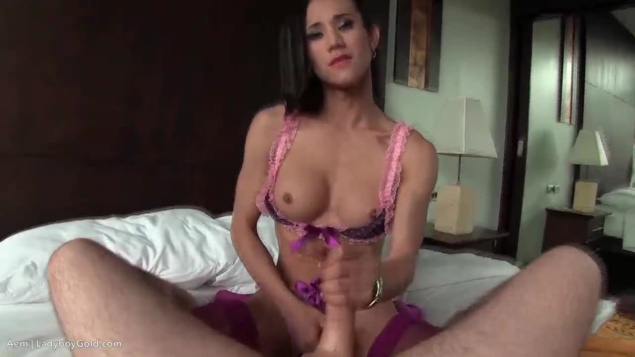 Tranny babe gets ass tunnelled
