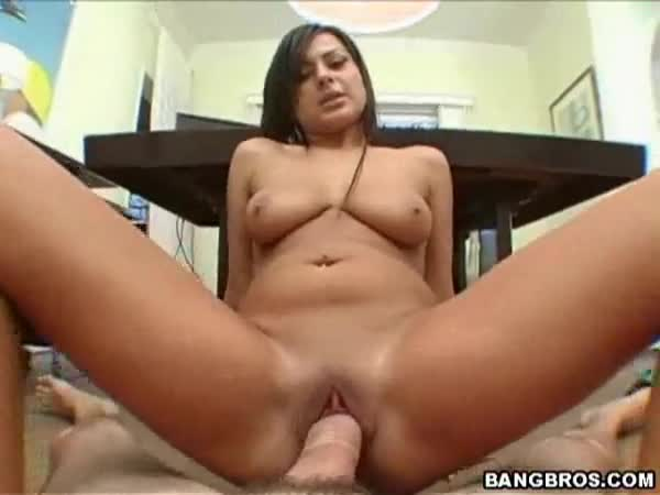 Sitting on dick porn
