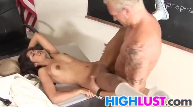 janet mason and three friends take on one guy with a huge cock