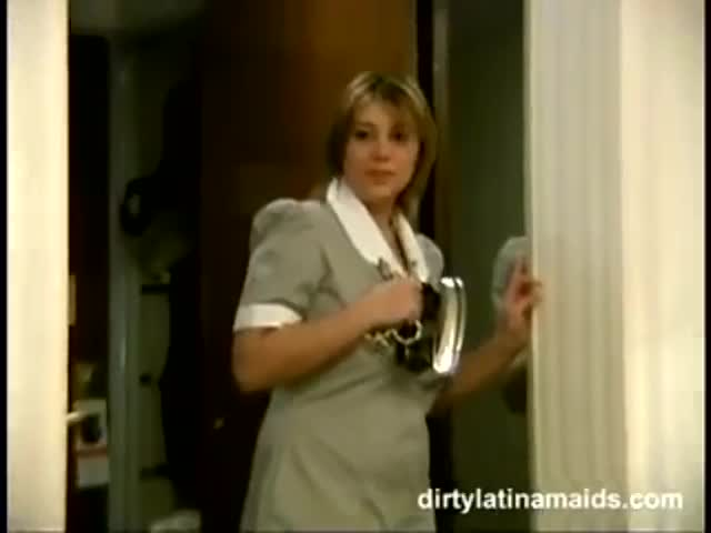 Latina maid fuck cop