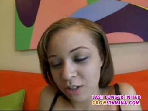latina teen on her first porn video-1