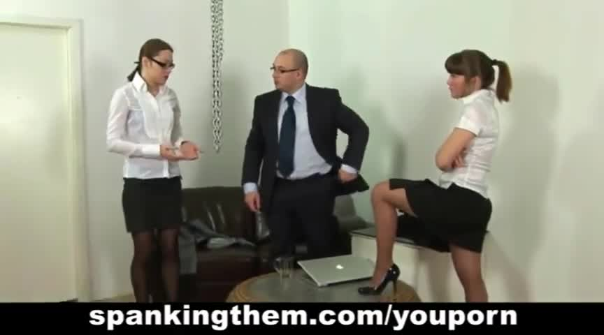 Love boss secretary spank was the