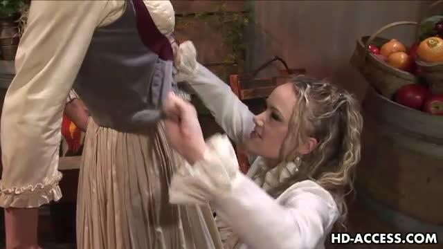 Hardcore lesbian strap-on
