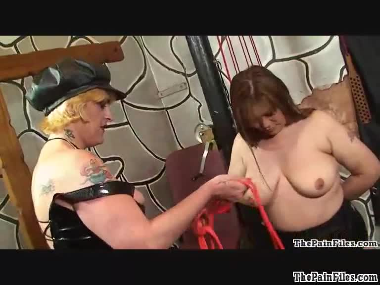 Bondage and domination videos