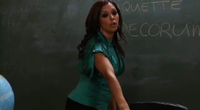 Lesbian Teacher Eats Pussy