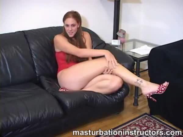 Brunette Strapon Masturbation Instruction Xxxbunker Porn Tube