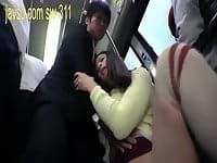Lonely housewife tram GEEK sexual harassment case
