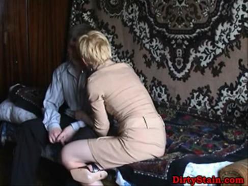 Mom seduces neighbor boy