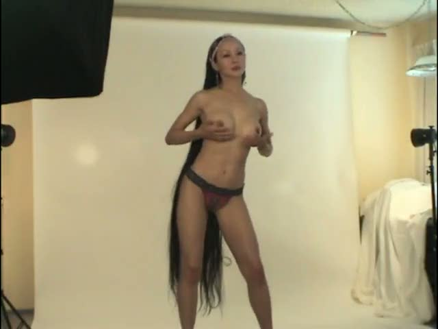 Indian long hair naked pic