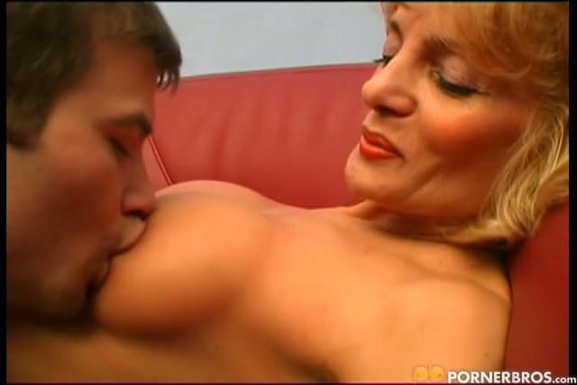 Lucky granny xxx video