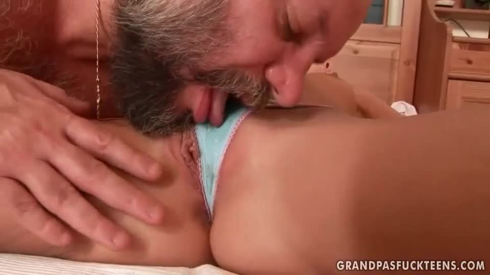 Fat blonde gives super handjob